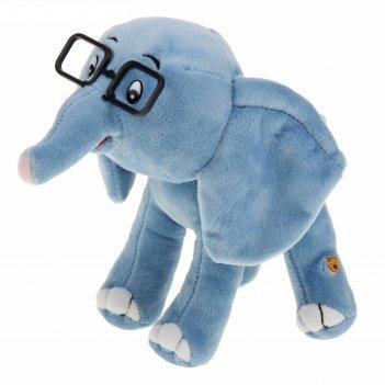 Мягкая музыкальная игрушка 38 попугаев: слонёнок, 20 см