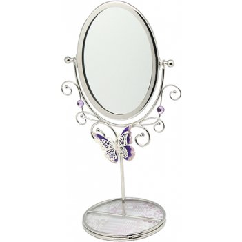 Зеркало на подставке jardin dete нежная сирень