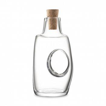 Бутылка для масла и уксуса с пробкой void, объем: 120 мл, материал: стекло