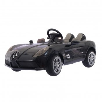 Электромобиль mercedes-benz slr mclaren new, окраска глянец черный, eva ко