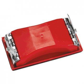 Брусок для шлифования, 160 х 85 мм, пластиковый с зажимами matrix