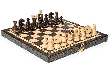 Шахматы королевские 30х30см польша