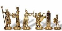 Шахматы оригинальные сувенирные  троянская война  (mp-s-19-c-54-g)