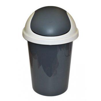 Корзина для мусора пц2547 10л.цв.в ас.