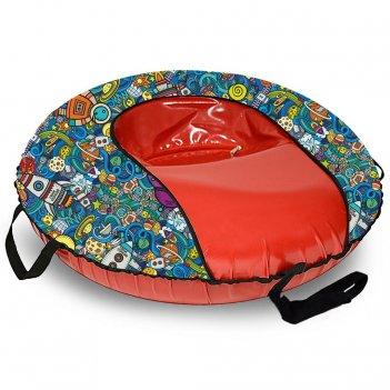 Санки надувные тюбинг оксфорд space comfort автокамера, диаметр 100 см