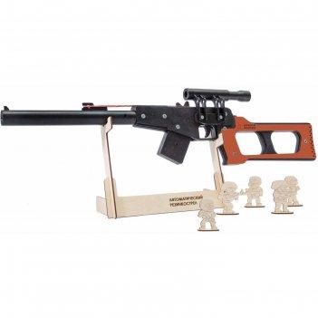 Резинкострел из дерева «всс винторез»