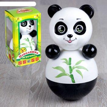 Неваляшка панда в художественной упаковке