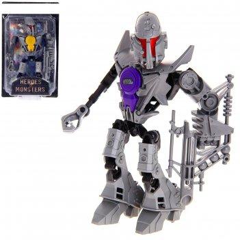 Робот-конструктор монстр magnito