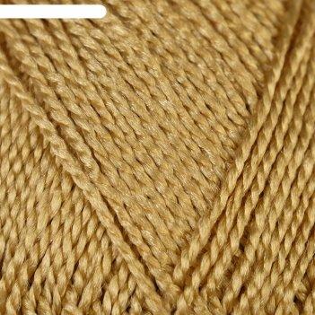 Пряжа люкс 100% полипропилен 140м/50гр набор 3 шт (золотой)