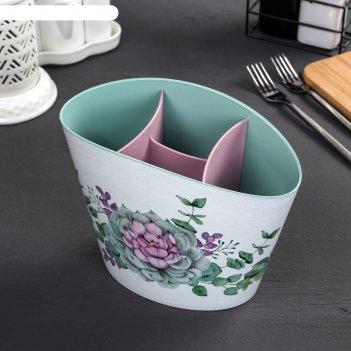 Сушилка для столовых приборов «каменная роза»