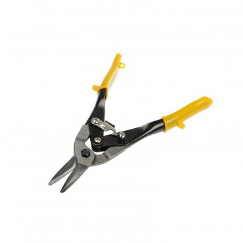 Ножницы по металлу tundra basic прямой рез, обрезиненные рукоятки, 250 мм