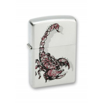 205_scorpion_color зажигалка zippo
