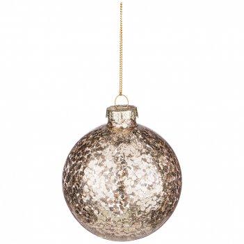 Декоративное изделие шар зеркальный блеск диаметр=8 см (мал-12 шт./кор=96