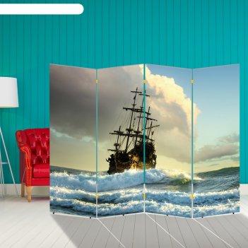 Ширма корабли. декор 32 200 x 160 см