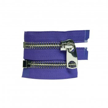 Молния для одежды, разъёмная, №12, 65 см, цвет фиолетовый