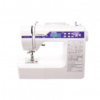 Швейная машина comfort 200a, 189 опер, обметочная, эластичная, потайная ст