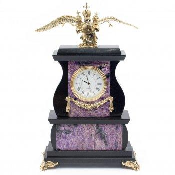 Часы двуглавый орел чароит