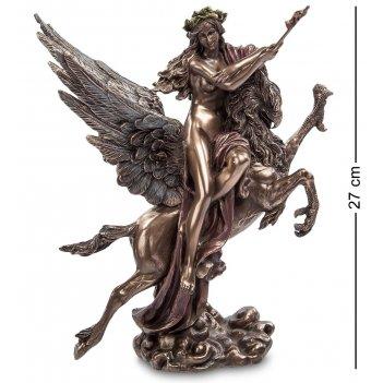 Ws-633/ 1 статуэтка женщина на грифоне (гюстав моро)