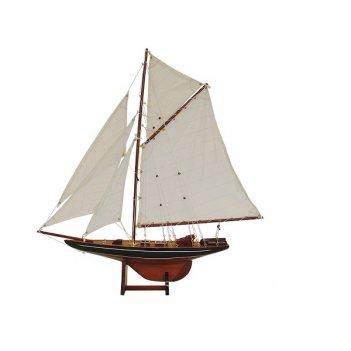 Модель яхты в кабинет columbia lux l 106 см h 118 см