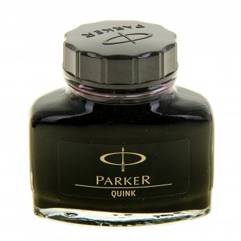 Чернила parker для перьевой ручки black