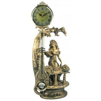 Скульптурные часы из полимерных смол восток к4627-1