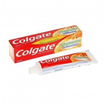 Зубная паста colgate прополис, отбеливающая, 100 мл