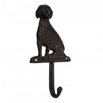 Крючок «собака», 8,5 x 16,5 x 3,5 см, чугун