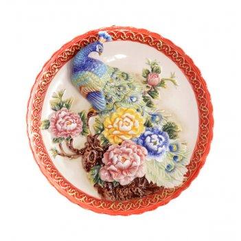 Тарелка декоративная диаметр=25 см.