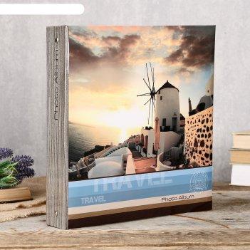 Фотоальбом fotografia магнитный, 50 листов, 23х28 см, путешествие fa-sa50