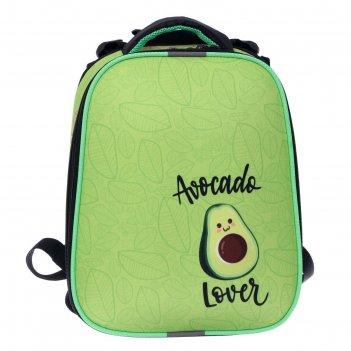 Рюкзак каркасный stavia 38*30*16 дев 8211б эргоном.спинка, авокадо, зелёны