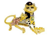 Фигурка кошка с котенком высота=30 см.