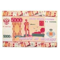 Полотенце микрофибра collorista деньги не мокнут 40х60 см, 100% п/э, 170 г