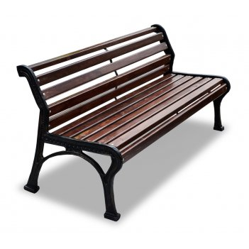 Скамейка садовая «ретро стиль» без подлокотников 1,5 м