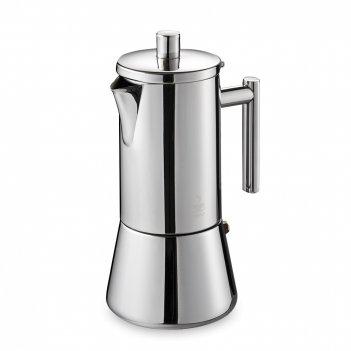 Кофеварка гейзерная nando, объем: 360 мл, материал: нержавеющая сталь, цве