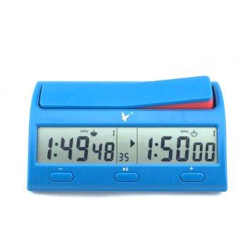 Часы шахматные электронные leap lake blue