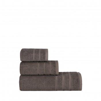 Полотенце kolmar 50x90 см, цвет коричневый