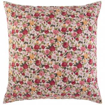 Наволочка розовый сад 70х70см,розовый,100%хб,сорочка