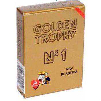 """Карты для покера """"modiano golden trophy"""" 100% пластик, и"""