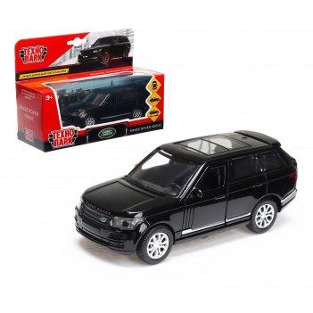 Машина металлическая range rover vogue, 12 см, открывающиеся двери, инерци