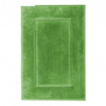 Коврик для ванной комнаты stadion, цвет зелёный, 55х85 см