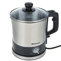 Чайник-кастрюля-пароварка sa-2132, 1500 вт, 1.5 л
