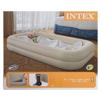 Кровать надувная для детей 2 в 1, 107x168x25 (ручной насос в комплекте)