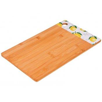Доска разделочная  agness 36*22*1 см бамбук (кор=12шт.)