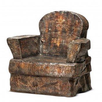 Садовое кресло камень