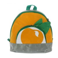 Рюкзак детский м-283, 24*10*24 см, 1 отдел на молнии, нар карман, желтый