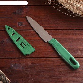 Сувенирный нож нескладной, в ножнах, микс