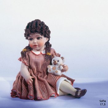 Sofia фарфоровая статуэтка h 14cm