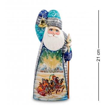 Рд-15 фигурка дед мороз (резной) 21см