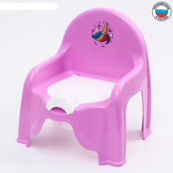 Горшок-стульчик детский единорог