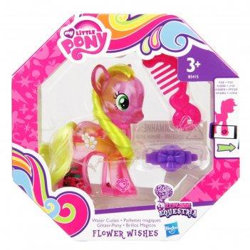 Пони с блестками в ассорт. my little pony b0357